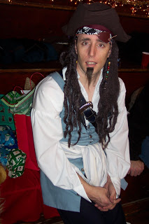 Captain Jack? Shipmate Jason? Either way, one sexy pirate.