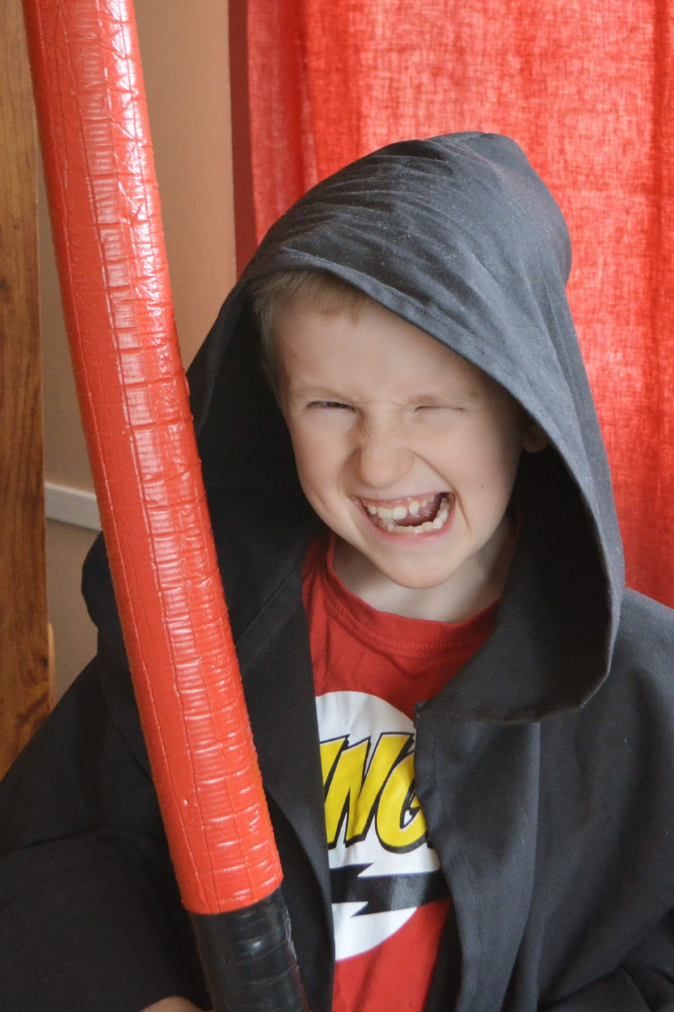 """Give me a Sith Snarl!"" I said. And he did... kinda. What IS that, anyway?!!"