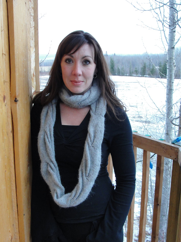 Origami Angels Infinity Scarf