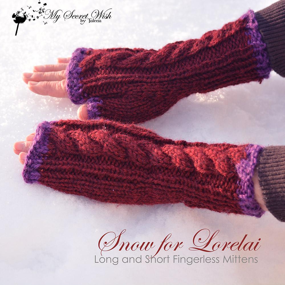 Snow for Lorelai knitting pattern