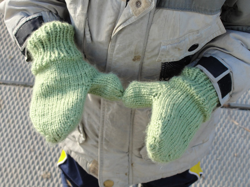 Lined Seamless Mittens