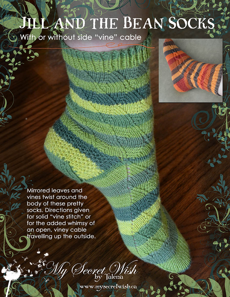 Jill and the Bean Socks flyer