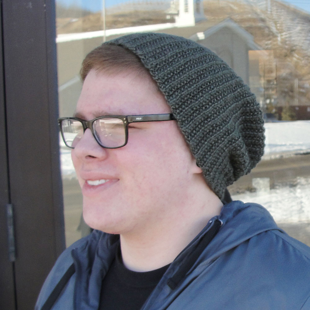 Brock Beanie - Long and Slouchy with Tuck