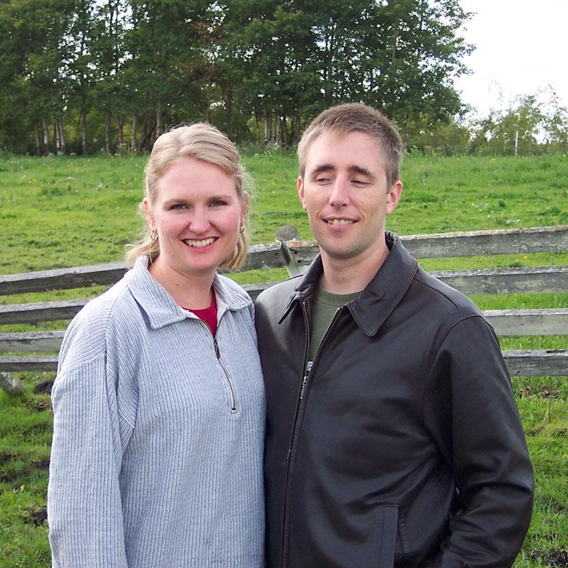 Complimentary kinds of crazy. Jason and Talena. Circa 2008.