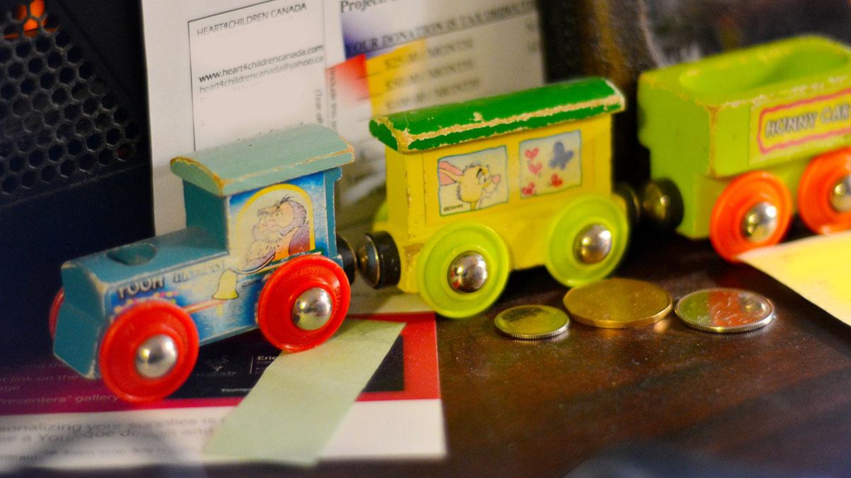 Levi's train.