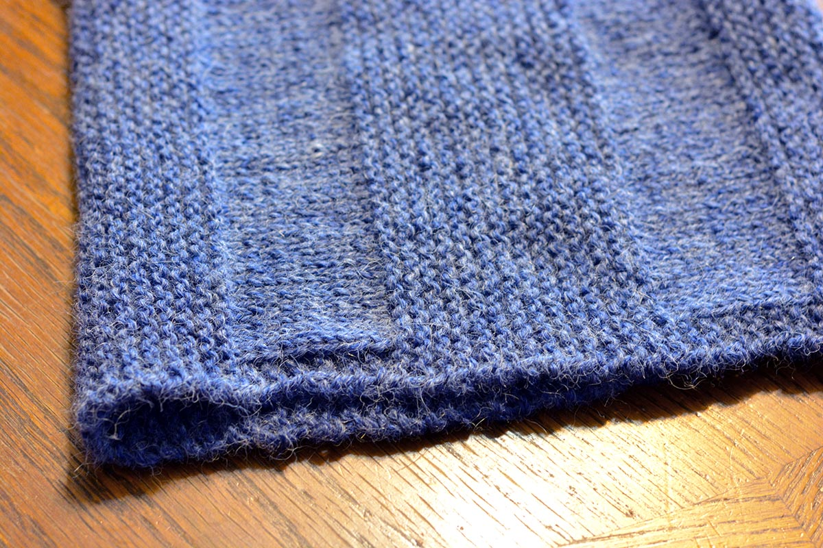 Just your basic knit and purl--but with stunning results.