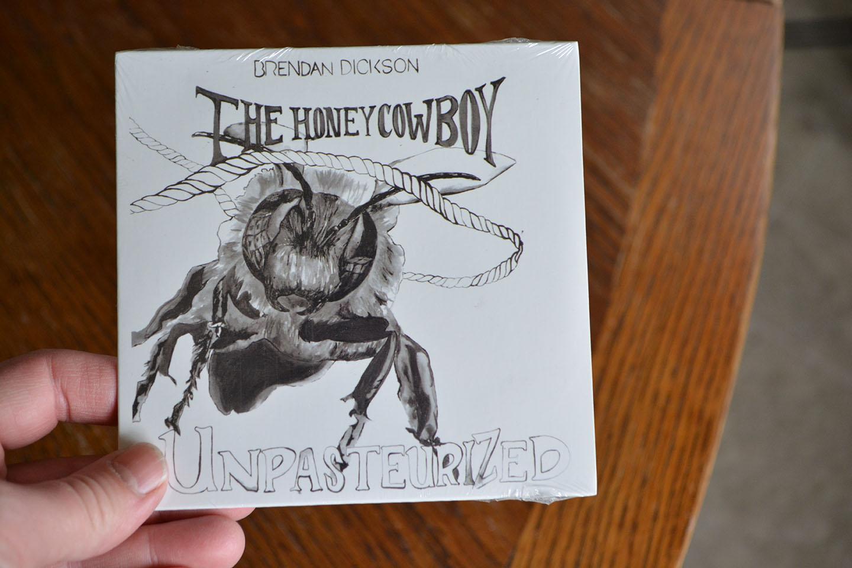 """Brendan's debut album, """"Unpasteurized."""""""