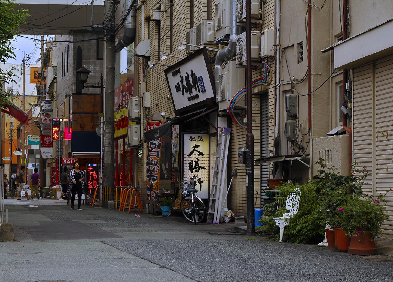 A street in Japan.