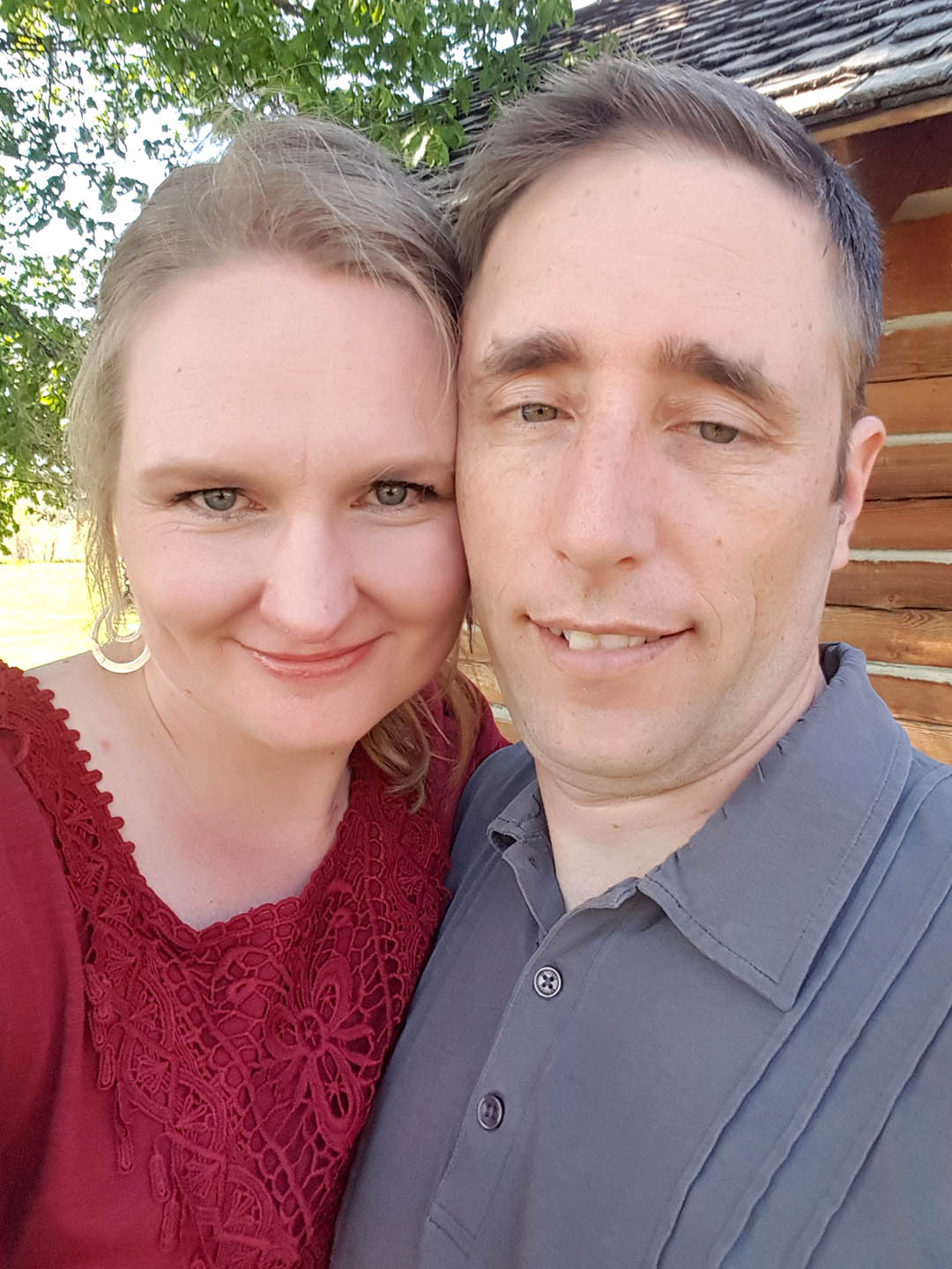 Two lovebirds on our 17th anniversary.