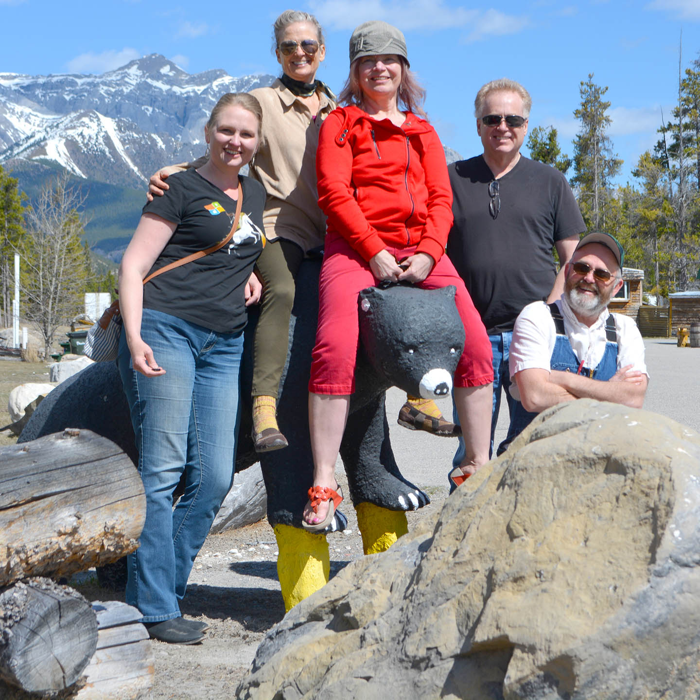Completing a family tradition at the David Thompson Resort.
