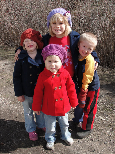 Naomi, Abigail, Zoe, and Jabin
