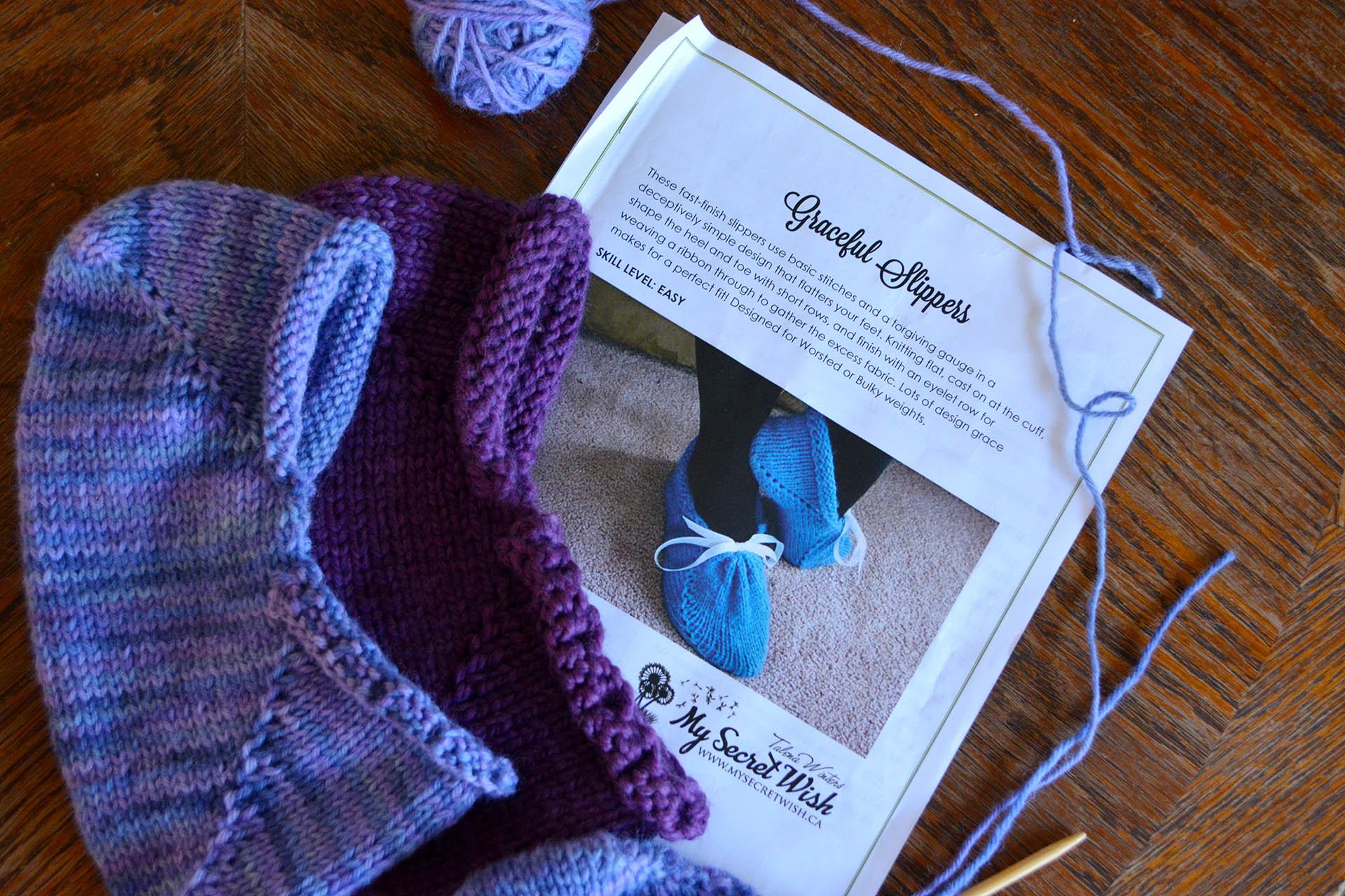 Graceful Slippers by Talena Winters