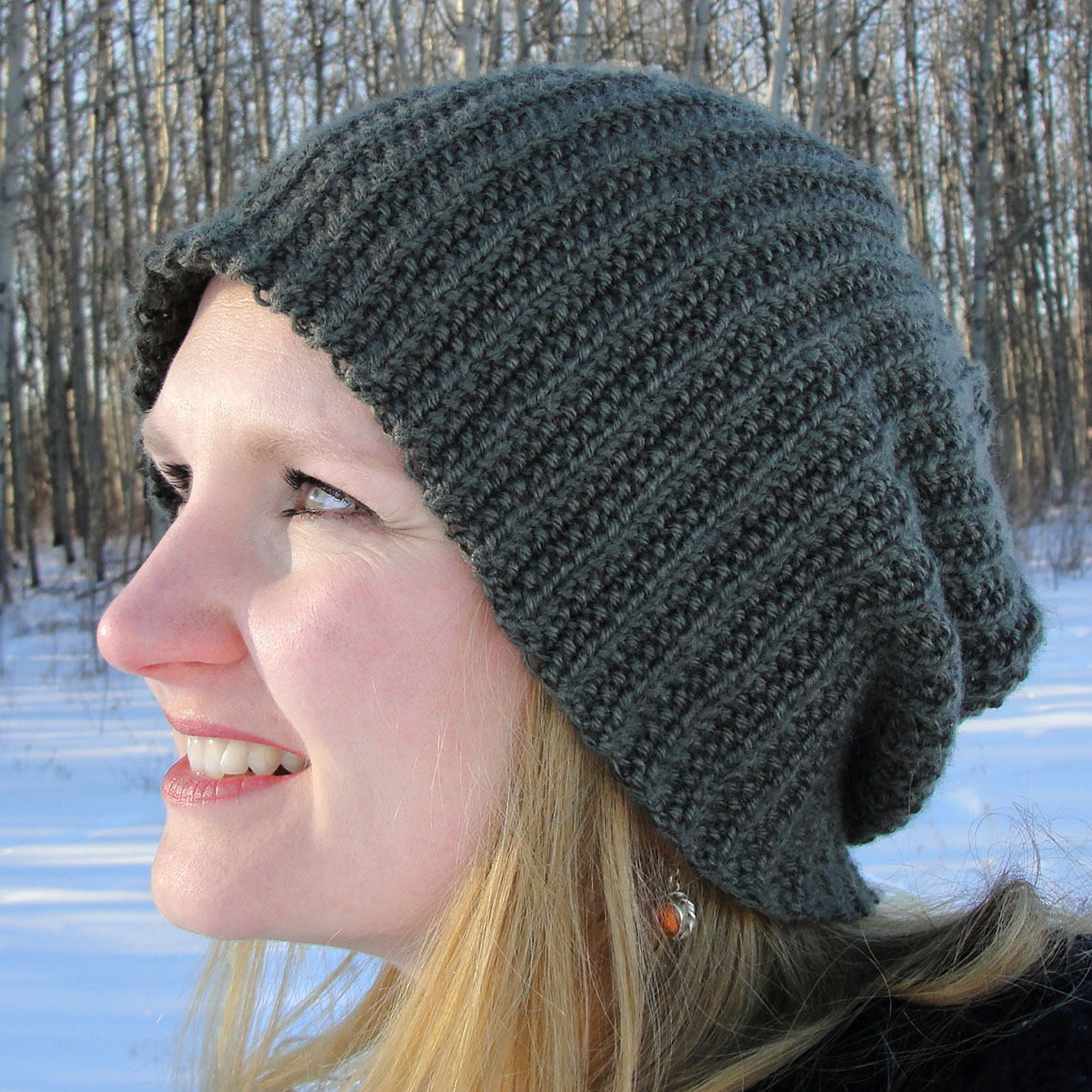 Brock Beanie - Long and Slouchy