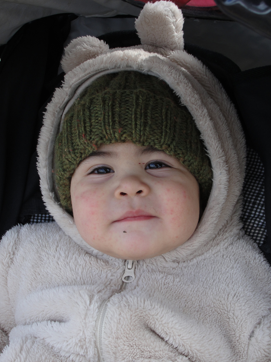 Levi Simon Winters, Age 1