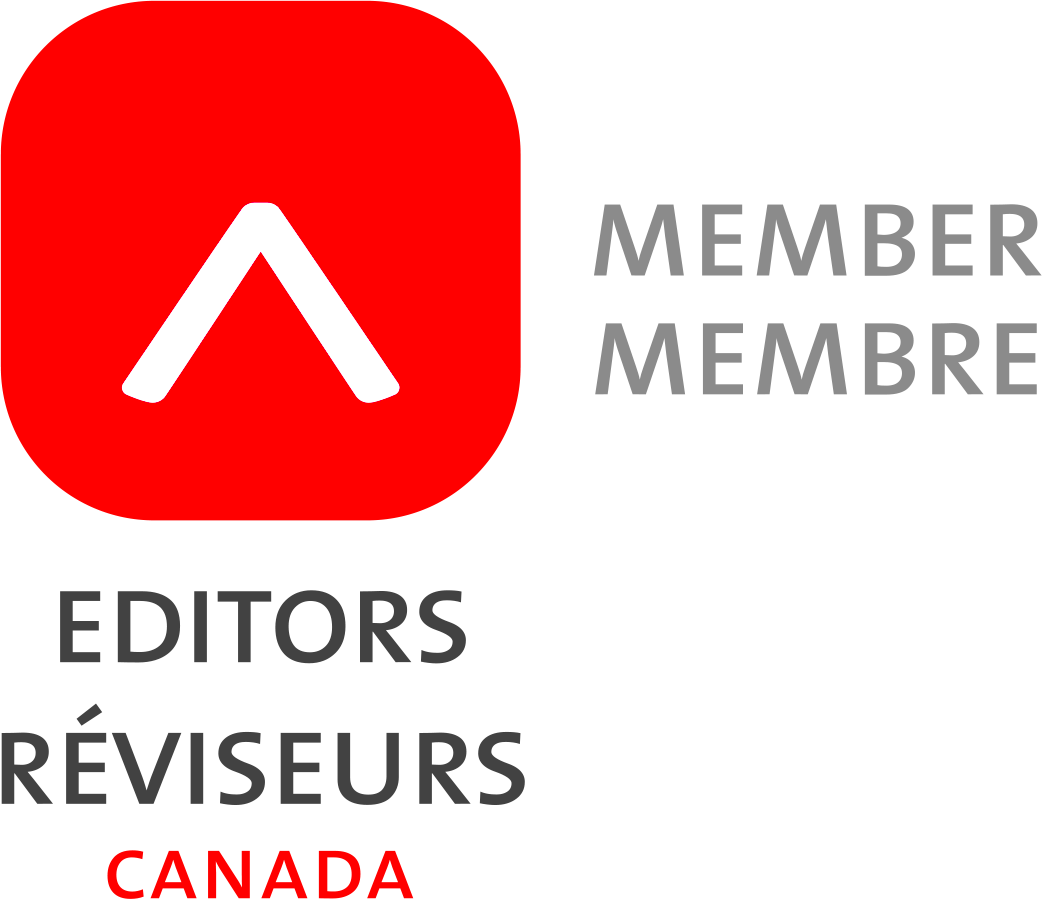 Talena Winters is a proud member of Editors Canada
