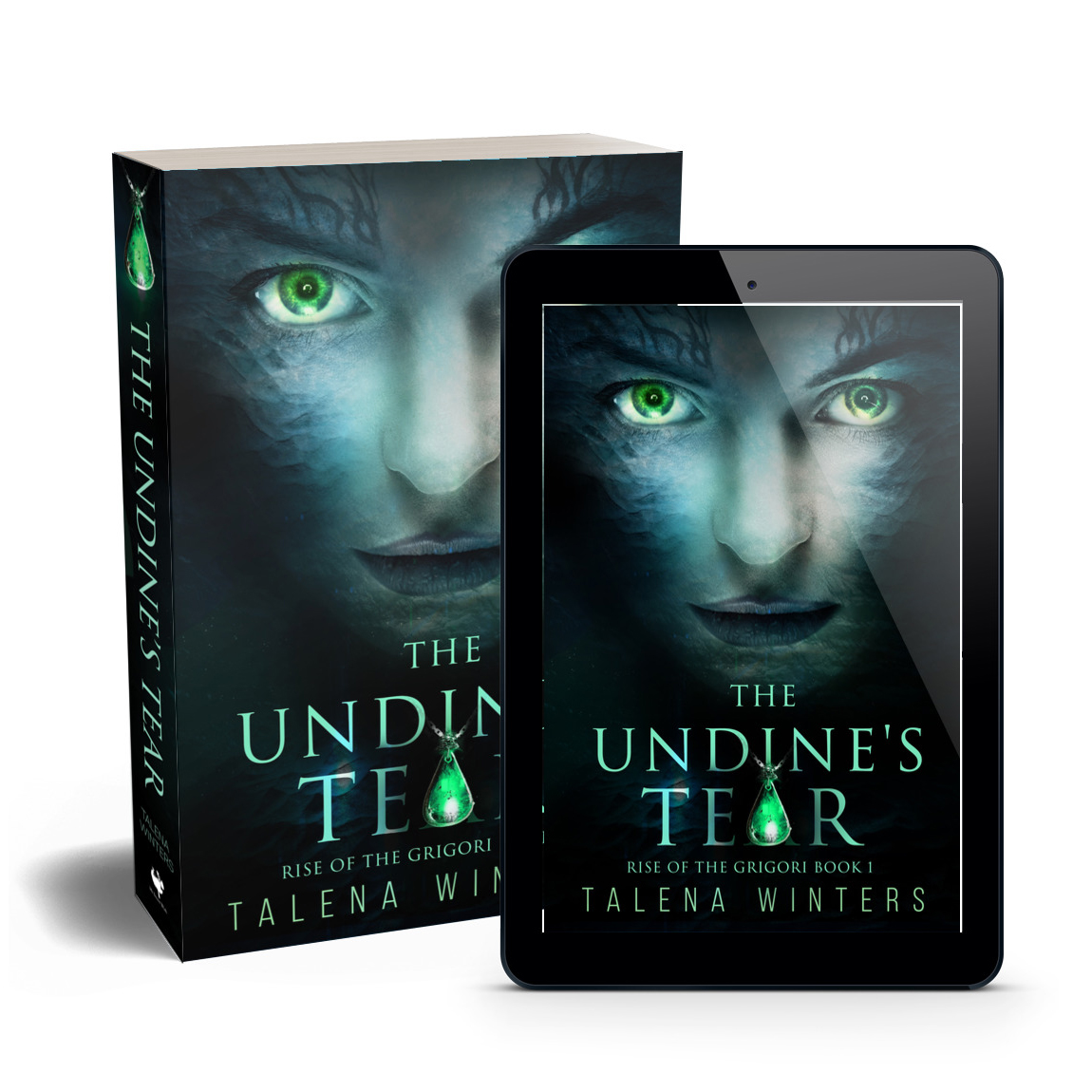 The Undine's Tear   by Talena Winters. She was raised to save her people—as long as she doesn't go crazy and kill them all first.