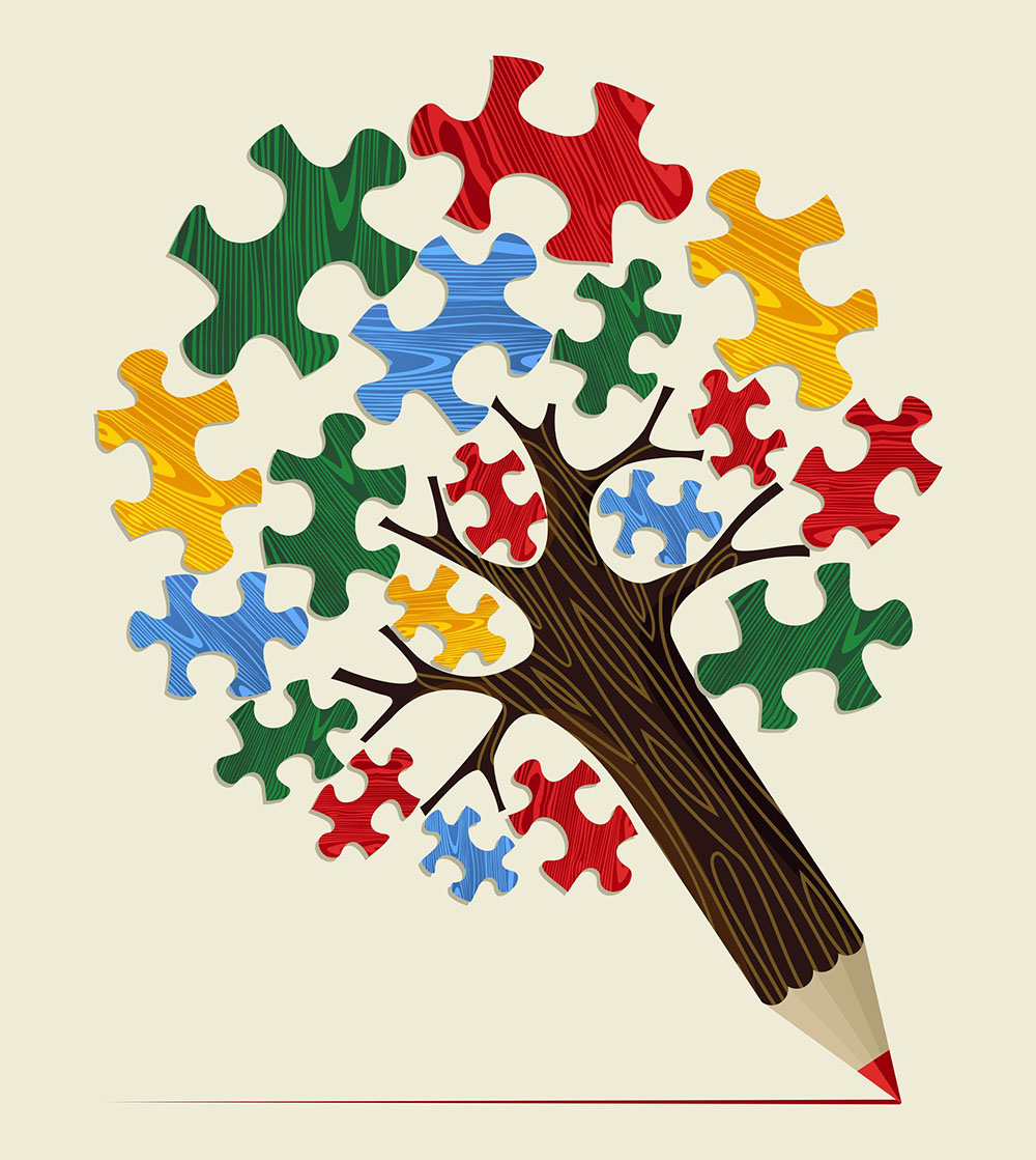 Plotting a novel is a lot like solving a puzzle… except you're creating the pieces as you go.
