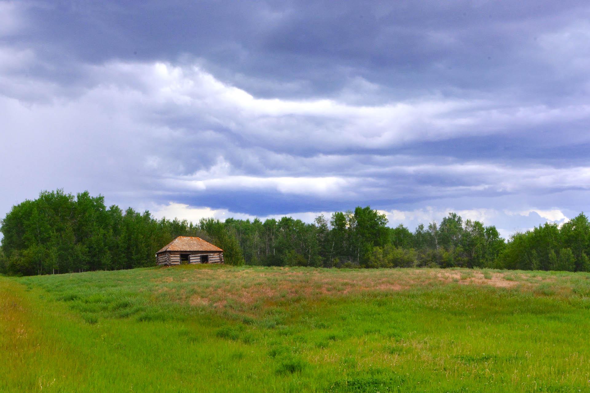 Cabin on Kauffman's Hill.