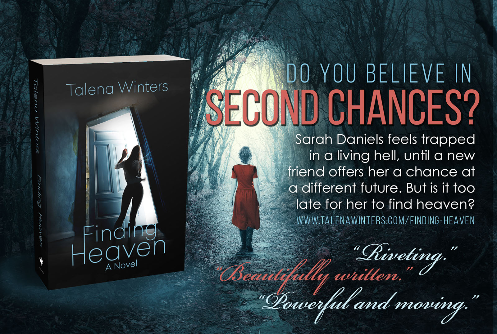 Do you believe in second chances? Riveting romantic suspense novel by Talena Winters. Please share!