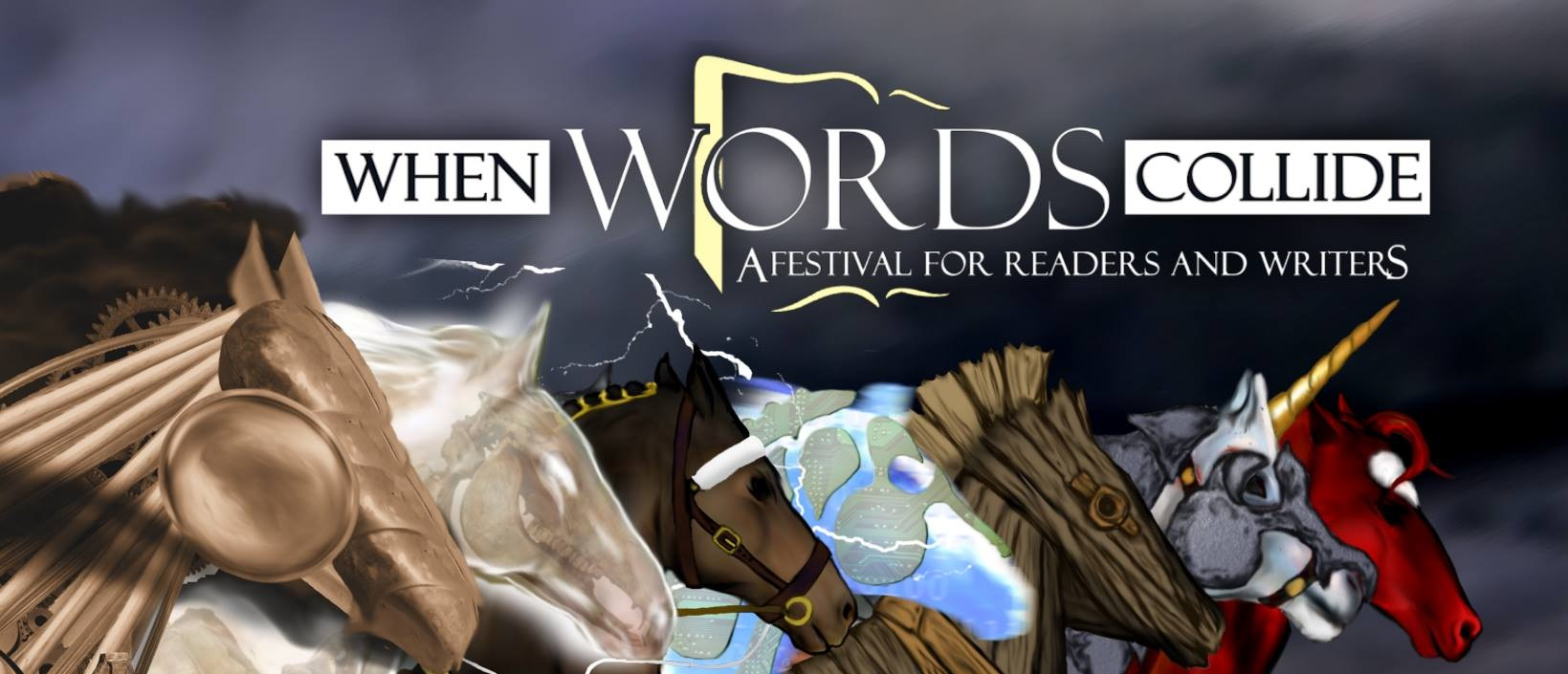 When Words Collide readers/writers conference.