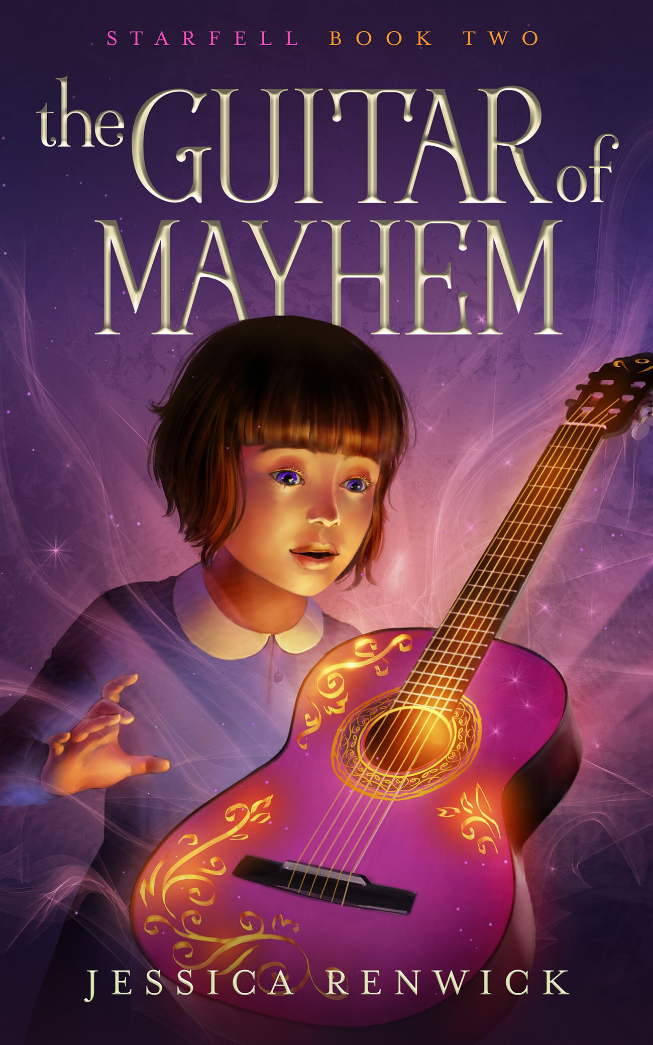 The Guitar of Mayhem  by Jessica Renwick. Middle Grade Fantasy.