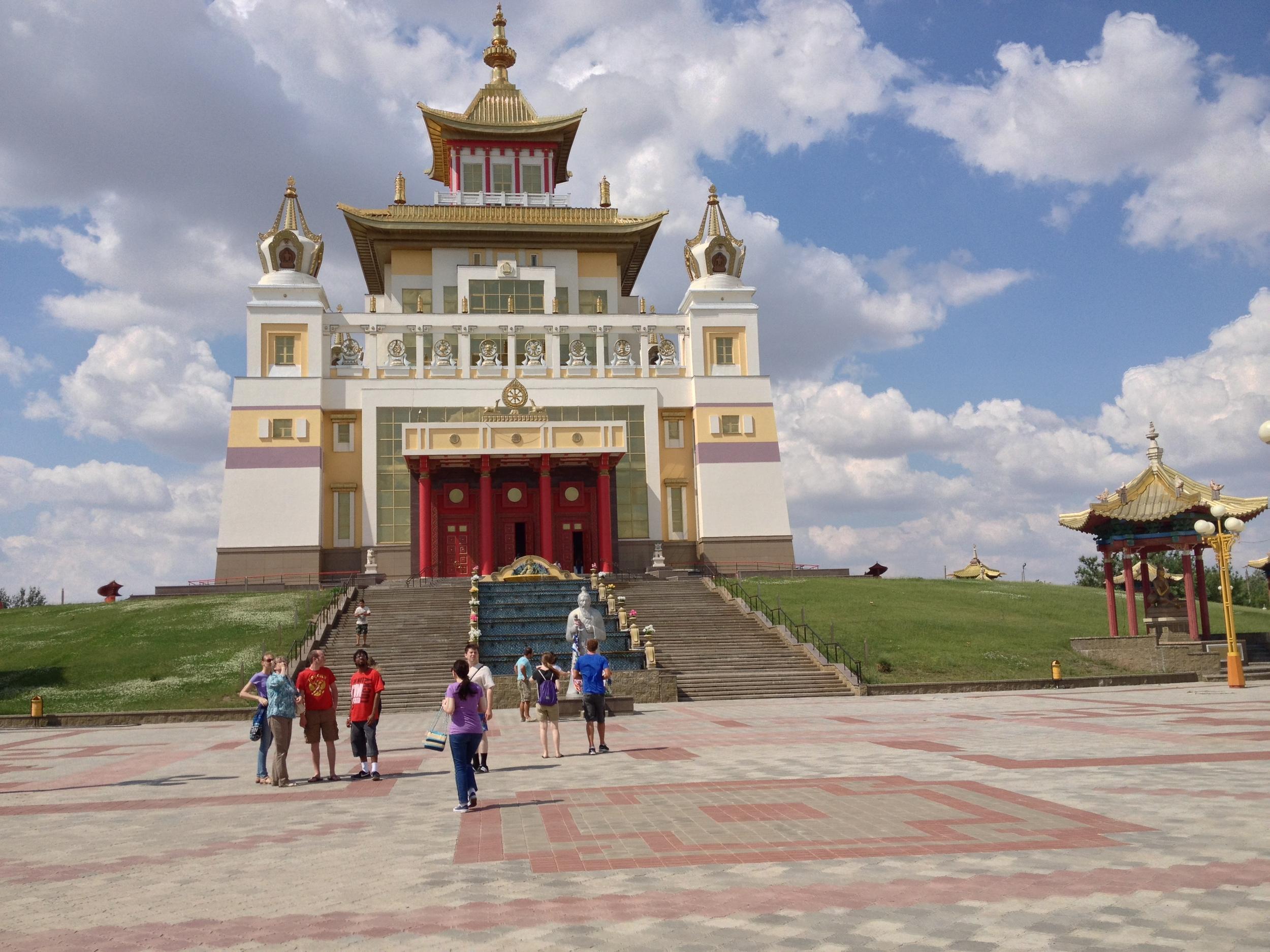 Golden Temple of Elista