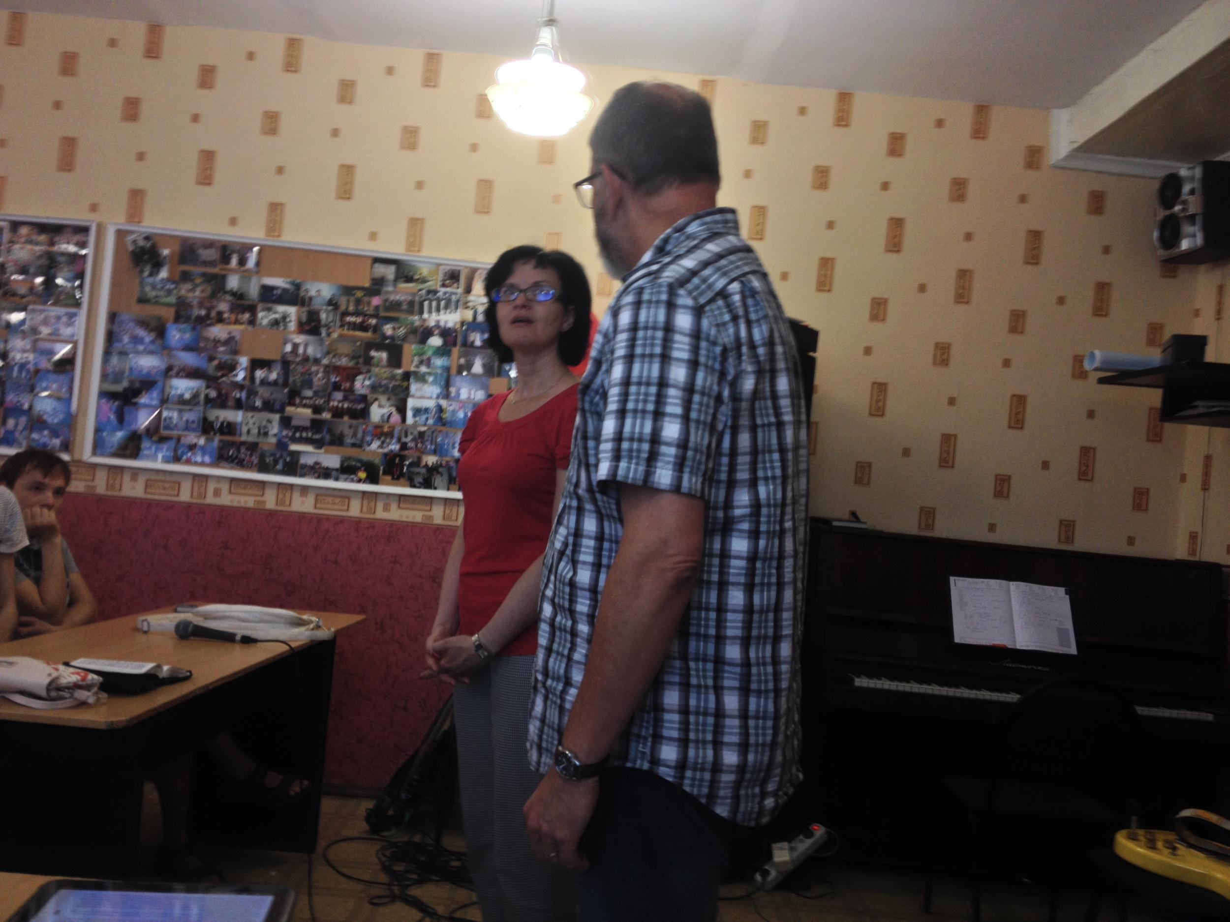 Curt Vahle and Sveta in Samara, RU