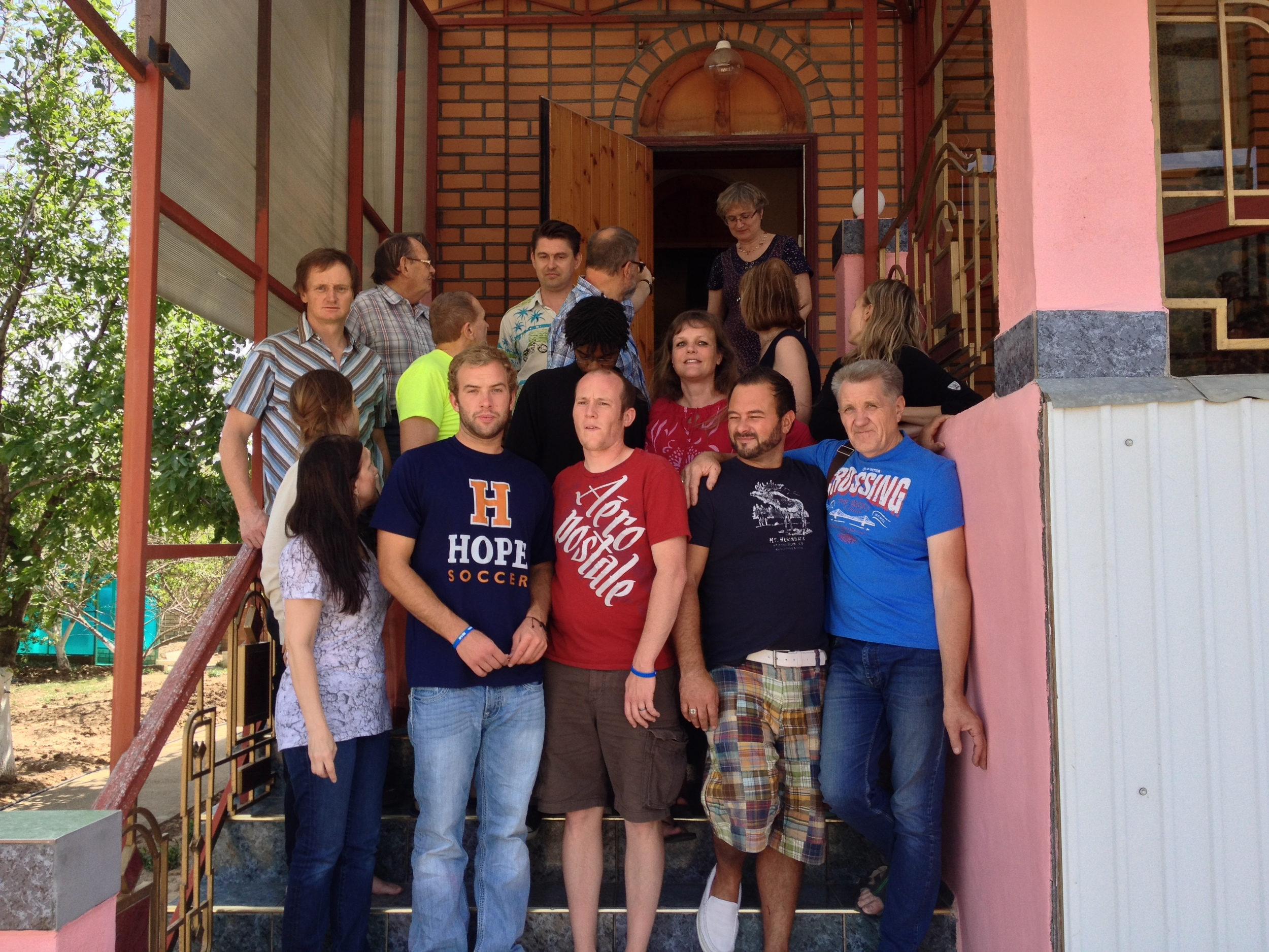 Mission Group at Love the World Church