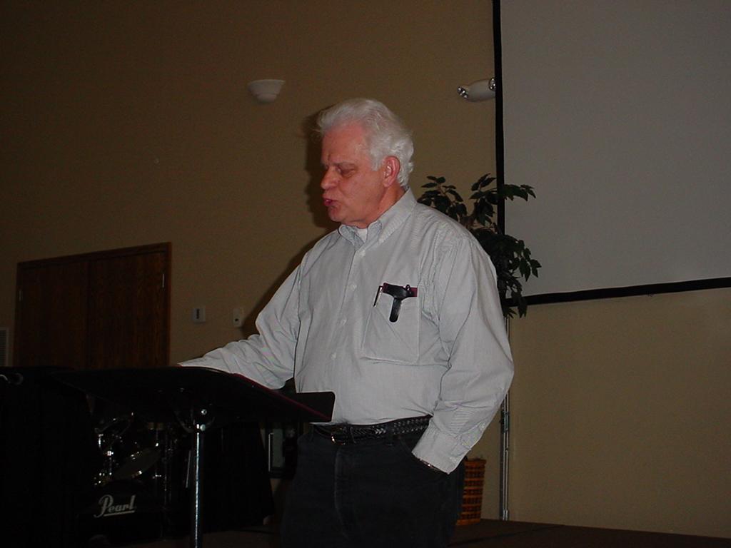 Merrill Bolender - Author, Speaker About Israel