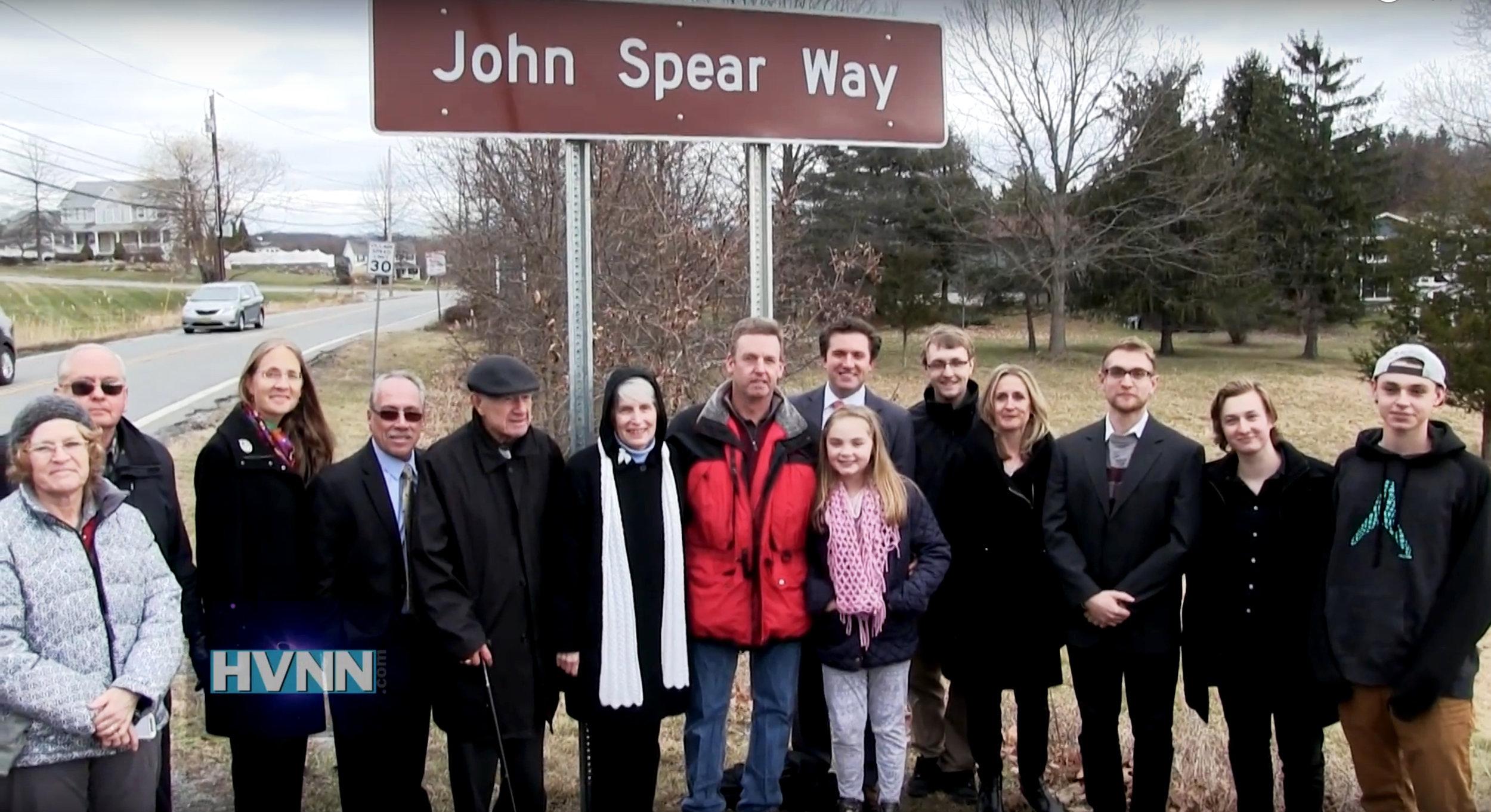Dylan Owen John Spear Way