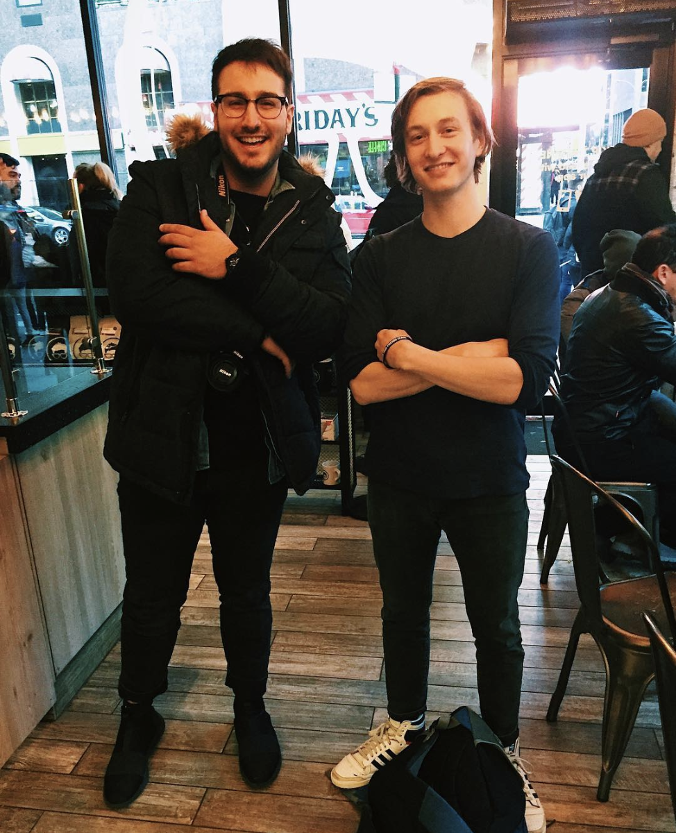 I met up with Nizar in Times Square. He's been listening to my music since 2012 and he was in New York for the first time, so naturally we had to grab coffee and trade stories. I want to meet every person who listens to my music. let's make it happen.