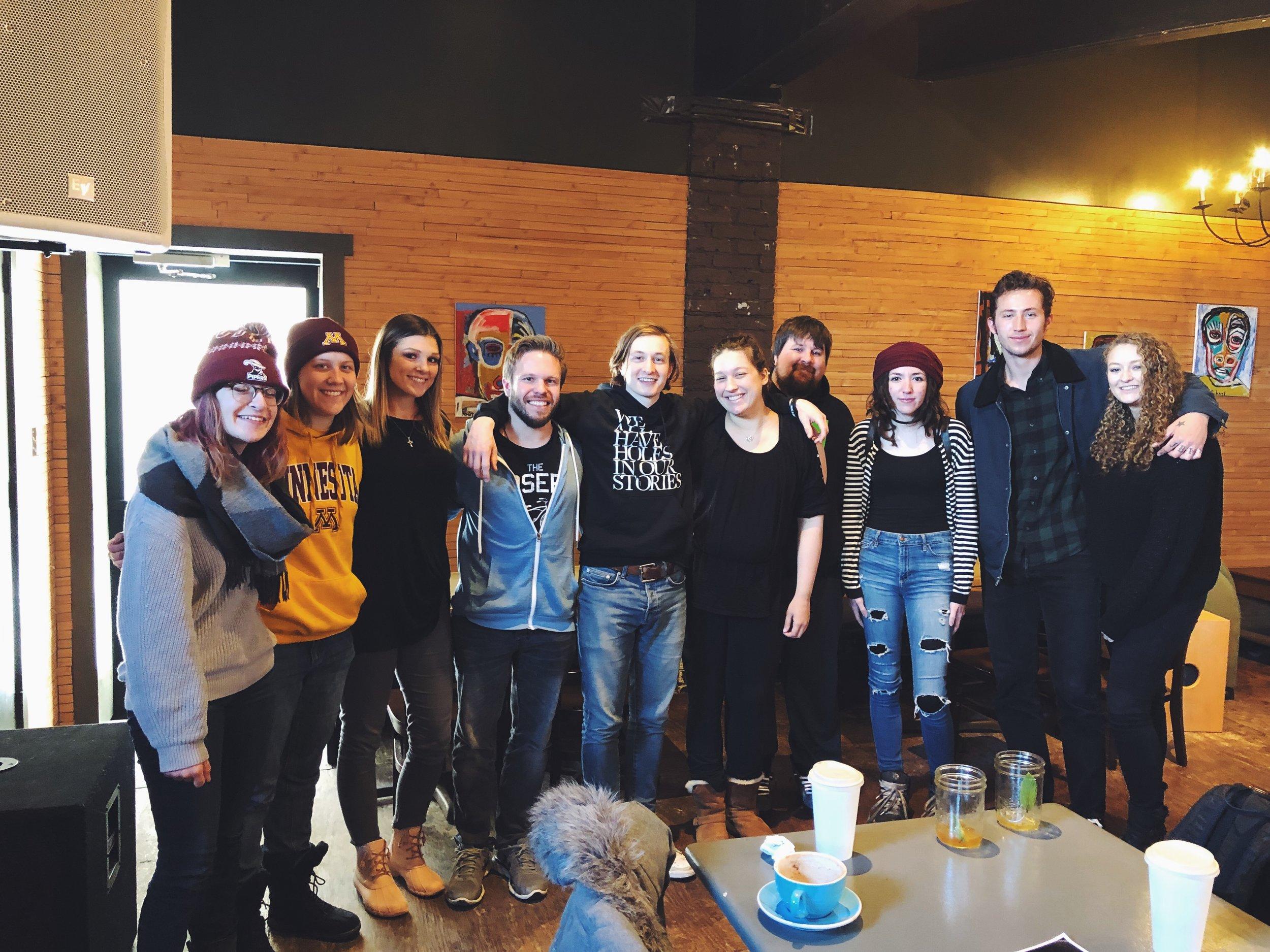the first ever coffeeshop meetup   Minneapolis, Minnesota