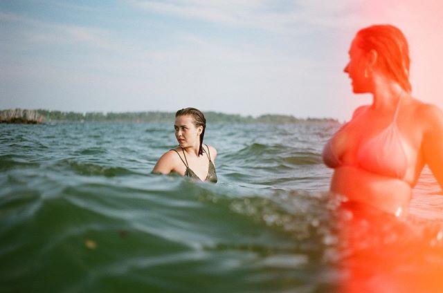 Friends n beaches. #35mm #portra160 #analoglife
