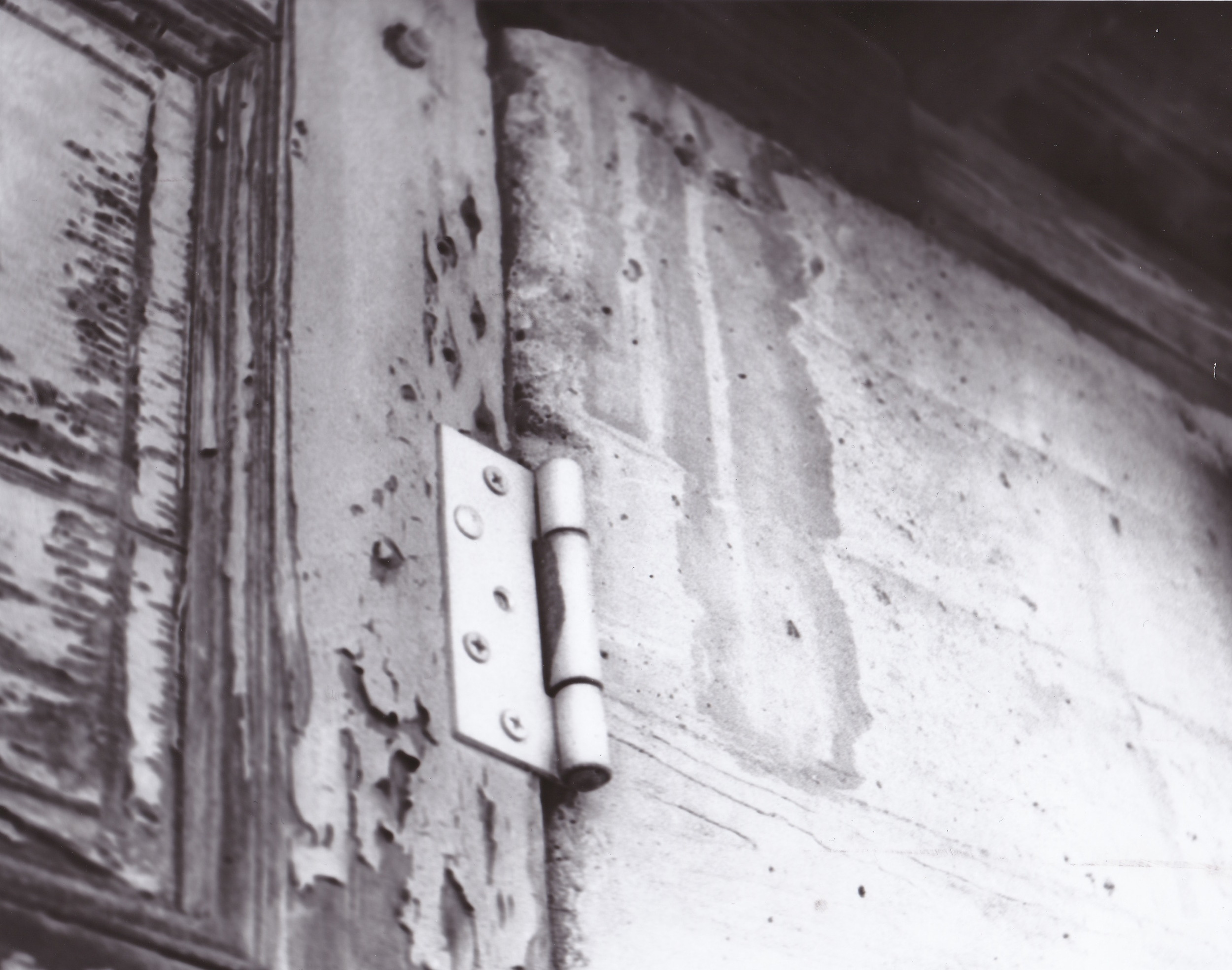 Old Doorway Film Photograph