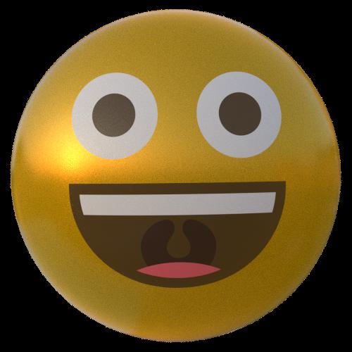 3D EmojiOne Head