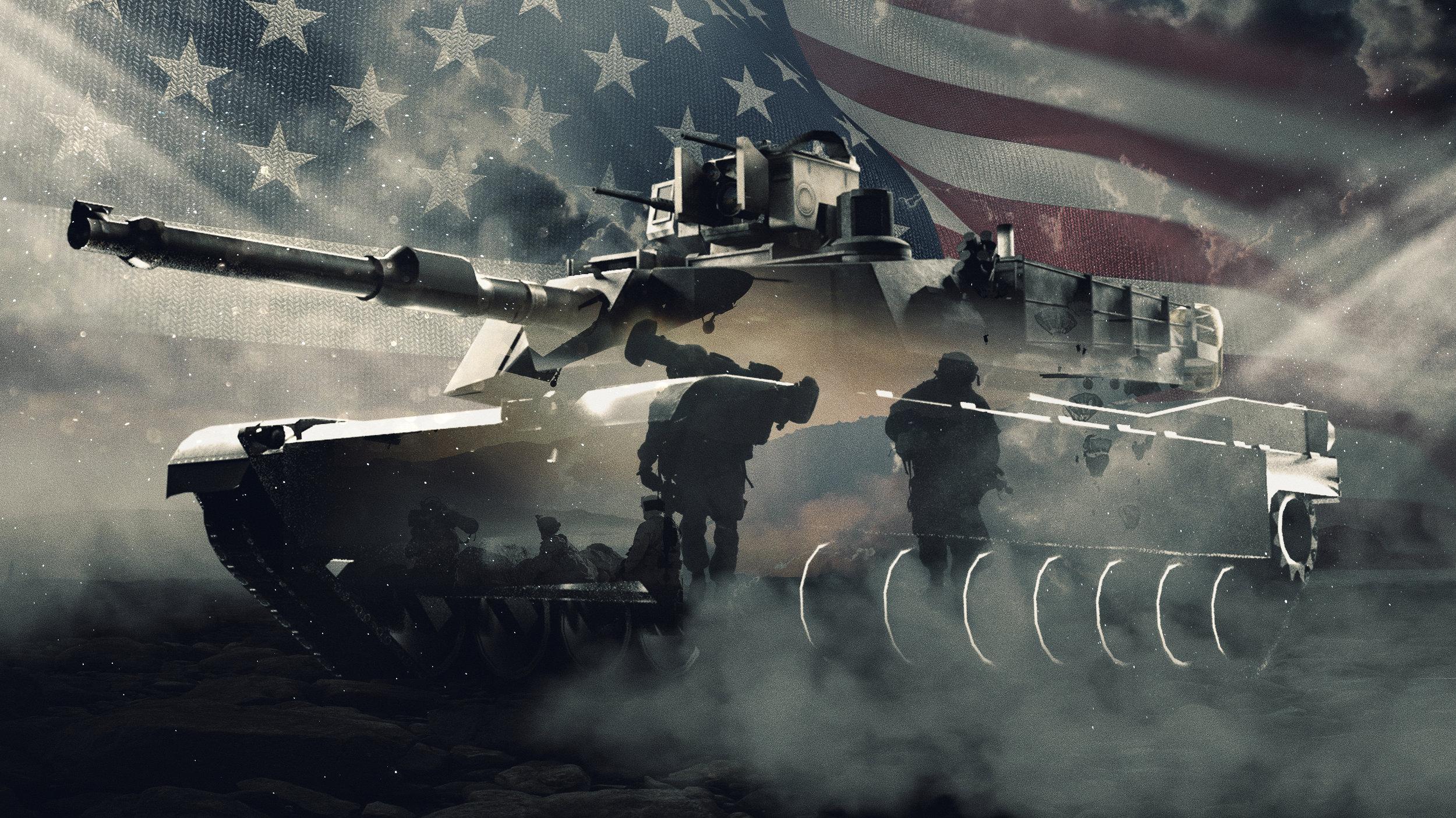Classic Military Collage - C1