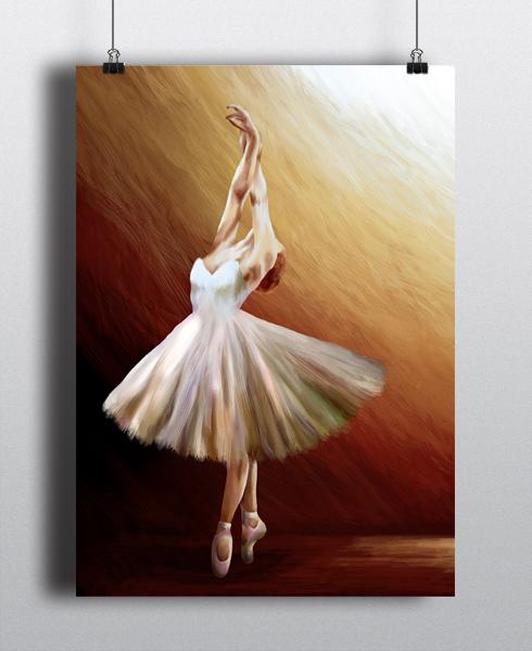 The Dancer, En Pointe