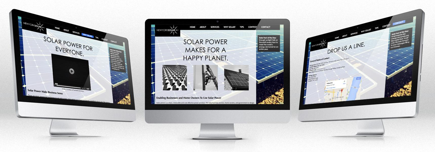 New York Solar Website