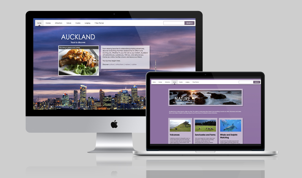 Auckland Travel Website