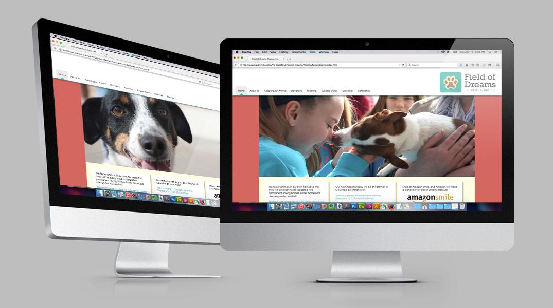 Field of Dreams Pet Rescue, Inc. Website