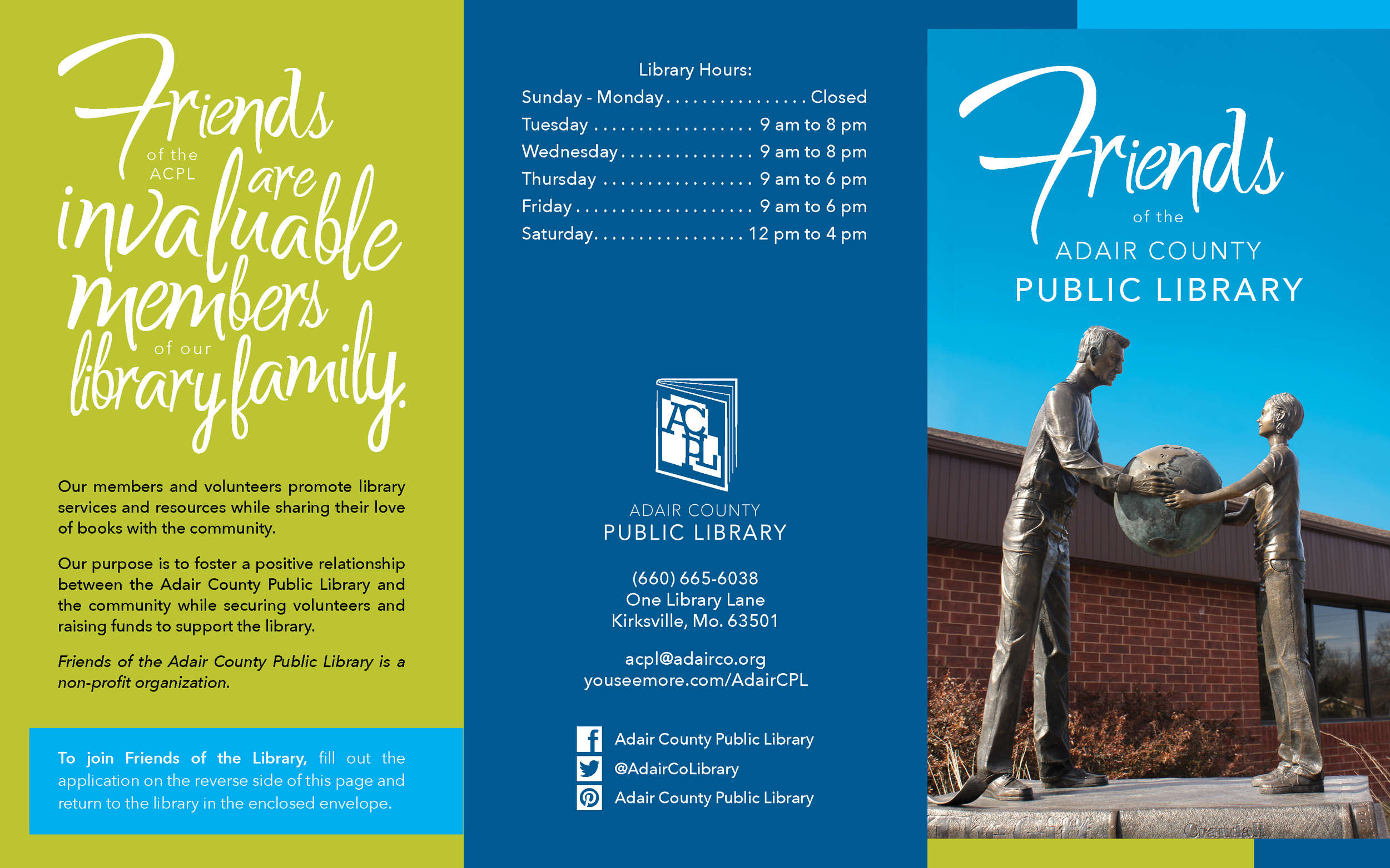Friends of the ACPL Brochure