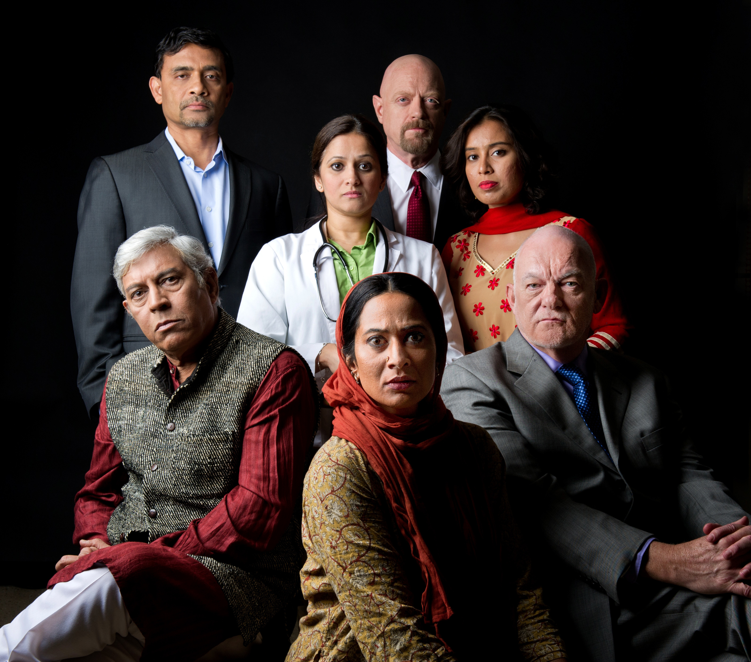 The cast of BHOPAL