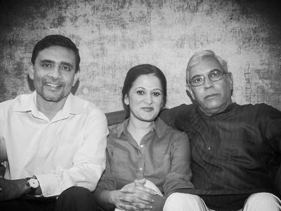Basab, Sindu and Ravi