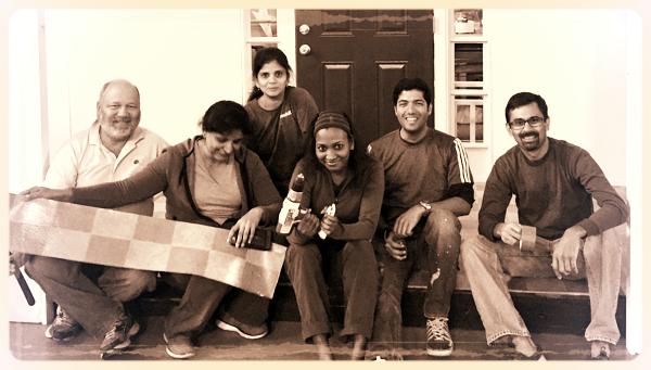 Adrian Booth, Namita Sathyan, Subashinee Krishnamurthy, Anjana Surin, Arun Agarwal, Sathish Shenoy