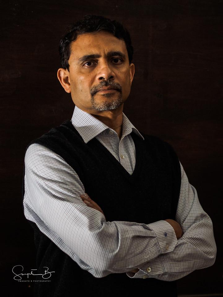 Basab Pradhan as Moolchand Misra – suave opportunist