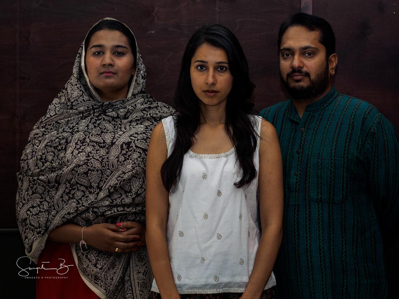 A family in despair