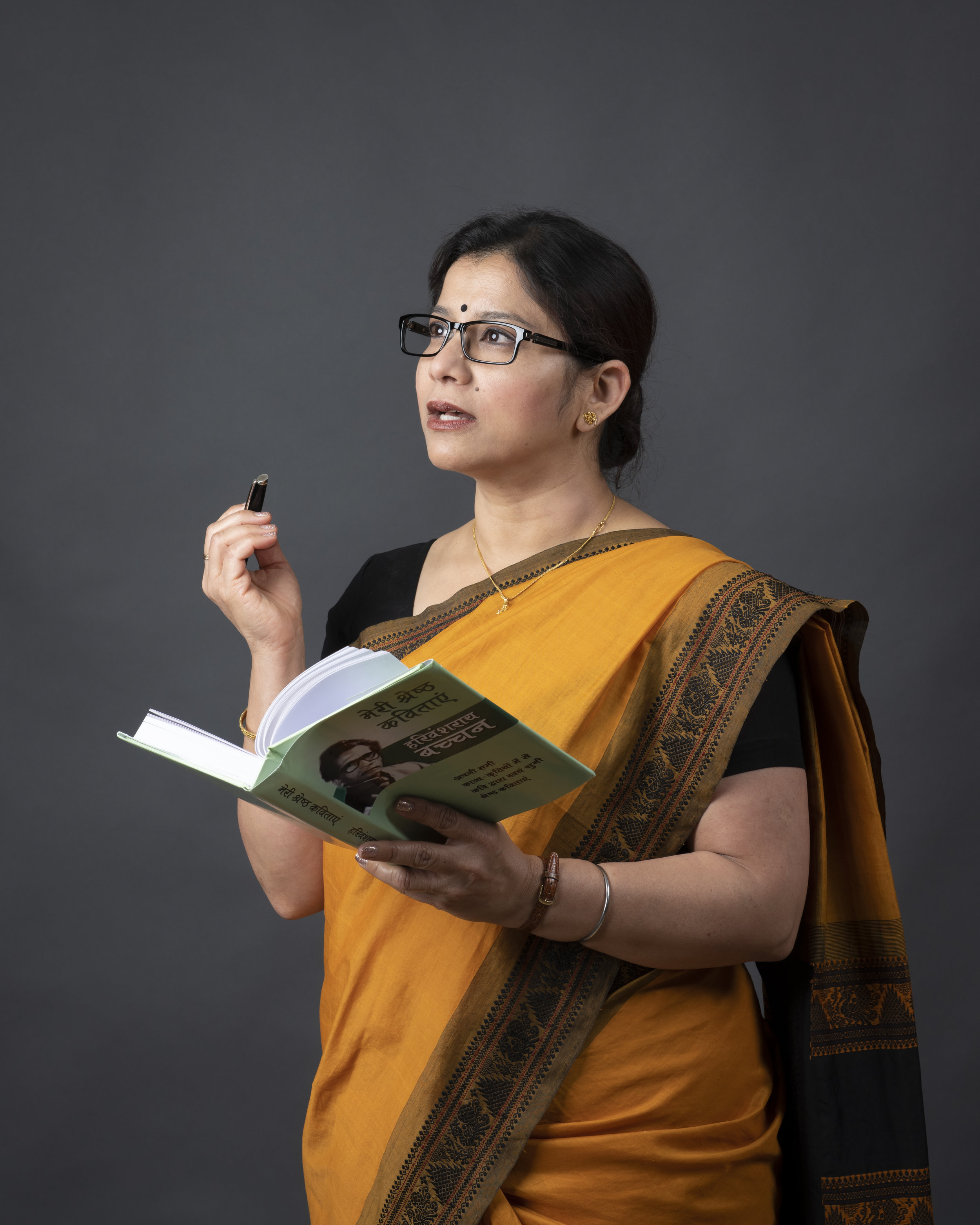 Anindita Mukherjee as ARUNA. PC: Ashima Yadava