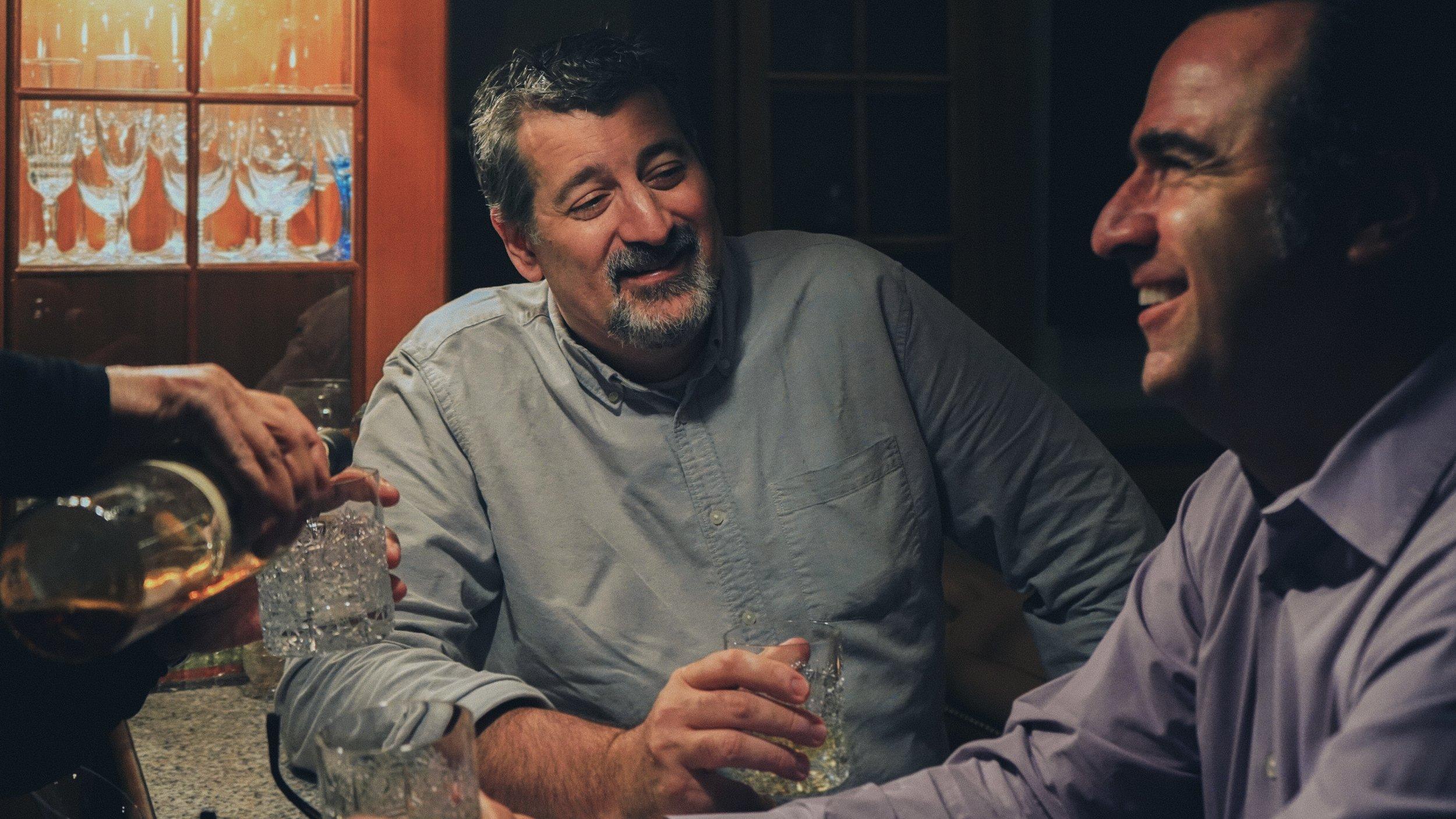 Brian Levi (Ash) and Ed Keyani (Greg)