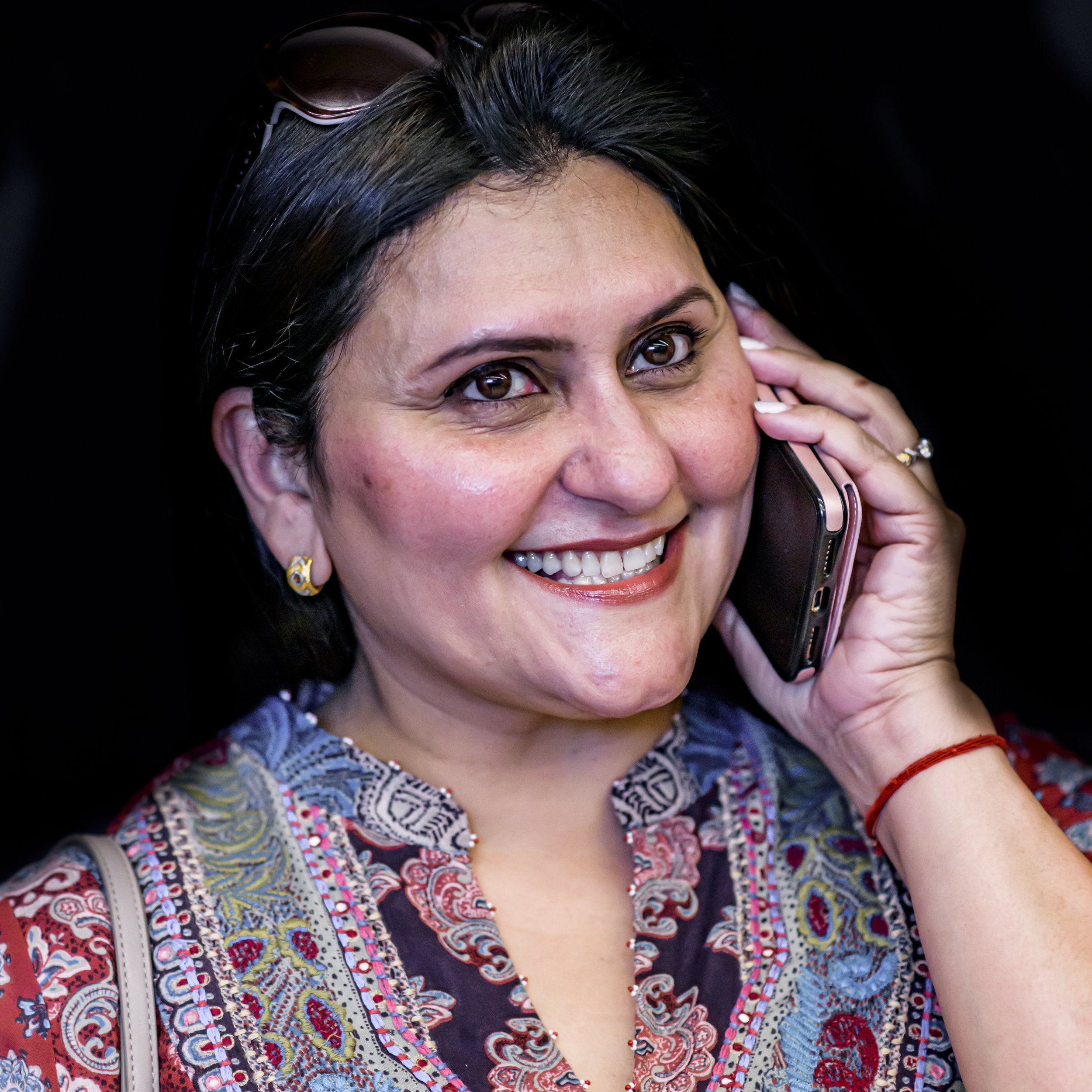 Dolly - The Networker. She's always using her connections to help people, even strangers. Or is she?Played by Rita Bhatia