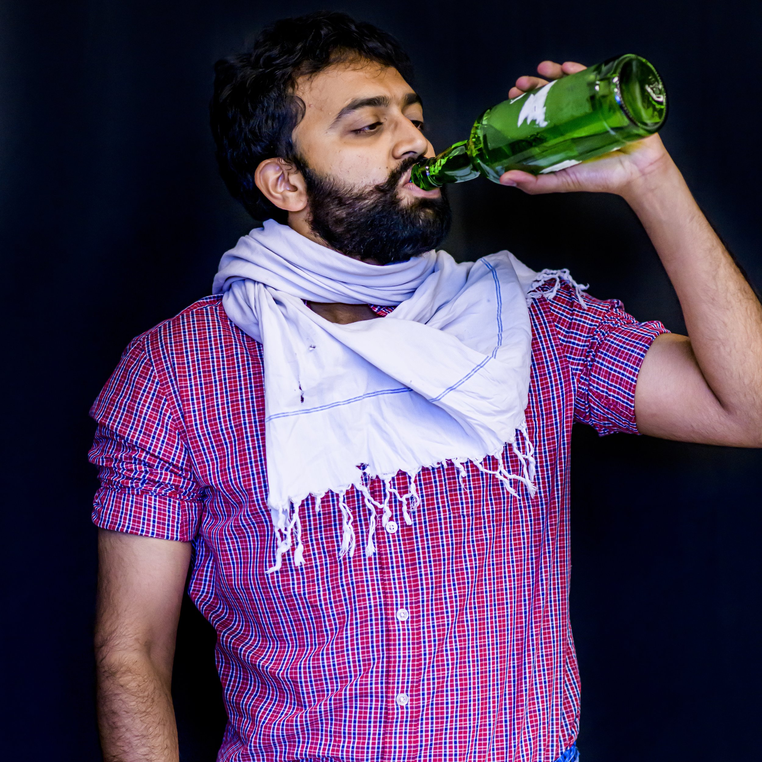 Shankara - Rowdy rascal with a drinking problem.Played by Kartic Bhargav